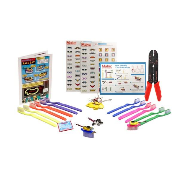 Toothbrush Robot Kit