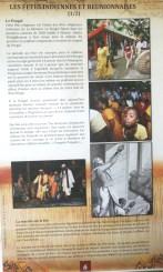 """""""La venue des travailleurs indien a été synonyme de l'installation de l'hindouisme à la Réunion...Ils ont apporté avec eux les fêtes du Pongol, le kavadi, la marche sur le feu ou encore le Dipâvali."""""""