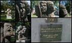 La révolte d'Eli Alors que l'île Bourbon est occupée par les Anglais, se déroule à Saint-Leu, du 5 au 8 novembre 1811, une insurrection d'esclaves, qui sera durement réprimée par les autorités coloniales de l'Île. La révolte de Saint-Leu demeure le seul grand soulèvement d'esclaves dans l'histoire de la Réunion. 300 à 400 personnes se rassemblent pour l'occasion sur le site de la Ravine du Trou à Saint-Leu. Ces derniers sont trahis par un des leurs - l'esclave Figaro - permettant aux colons de s'organiser et de lancer une contre offensive.Le procès, qui se déroule en février 1812, condamne à mort 25 des meneurs de la révolte. 3 d'entre eux meurent en prison avant leur exécution. Les 15 autres sont décapités à la hache, et les 7 derniers sont finalement condamnés à perpétuité. Symboliquement les exécutions se font sur toute l'île. Le vendredi 10 avril 1812, 2 des condamnés ont la « tête tranchée » sur un échafaud construit « au-delà du Butor » à Saint-Denis. Les 13 autres sont conduits en chaloupe dans diverses communes, le 13 avril 1812, pour subir le même sort. Le 15 avril à 15 heures, sont simultanément décapités 4 esclaves à Saint-Paul, 5 à Saint-Leu et 2 à Saint-Pierre. Les 2 derniers sont transportés à Saint-Benoît, à 6 heures du matin le 23 avril, pour y être exécutés dans la journée. C'est donc sur cette place du tribunal que sont décapités le 15 avril 1812, à 15 heures, les 4 condamnés, meneurs de cette révolte: Elie, Gilles, Zéphir et Paul. En 2012, le 15 avril à 15 heures, soit 200 ans après ce massacre, une cérémonie commémorative inaugure une stèle (réalisée par l'artiste sculpteur Nelson Boyer) en l'honneur de ces révoltés oubliés du grand public, afin qu'un hommage à cette histoire soit rendue en ce triste lieu, et que la mémoire de ces hommes insoumis traverse les âges, gravée dans la pierre.