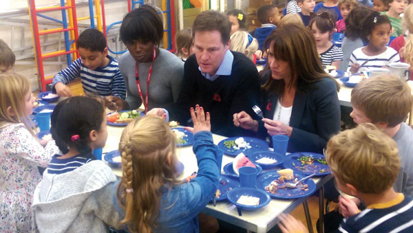 Nick Clegg unveils government plan to better teacher workload balance