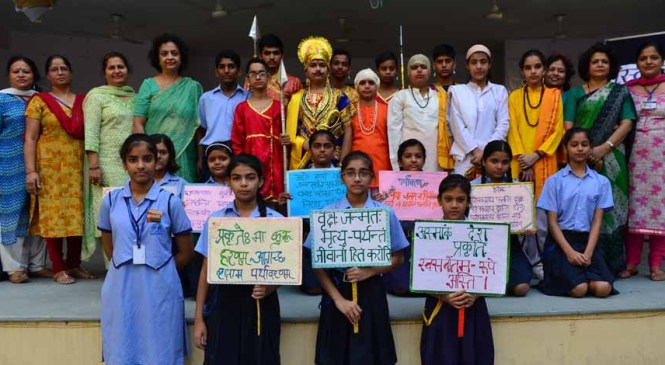 LPS Students Celebrate Sanskrit DAY, Exhibit a Beautiful Skit in Sanskrit