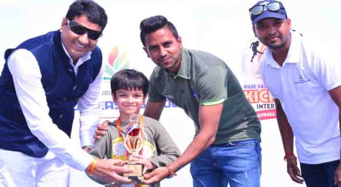 300 Students Participate in Made Easy School Football Tournament