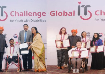 55 Awards Presented to Youth with Disabilities at Global IT Summit