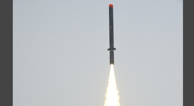 Successful Trial of 'Nirbhay' Sub-Sonic Cruise Missile