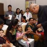 President Interacts with Rehabilitated Divyangjan Children