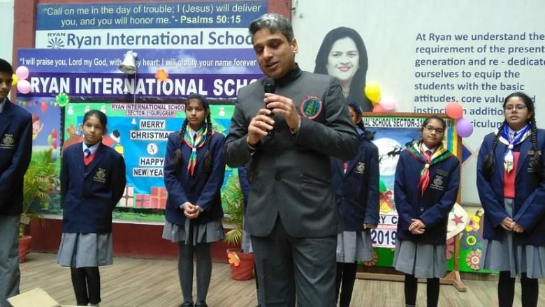 Swachh Survekshan 2020 Program in Ryan International School