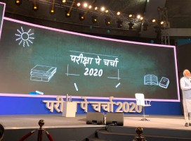 "P M Modi Interacts with Students from India and Abroad in"" Pariksha Pe Charcha 2020″"