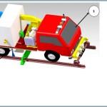 Self-Propelled Railway Track Scavenging Vehicle