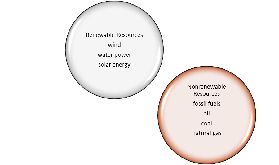 Biology Review of Renewable and Nonrenewable Resources