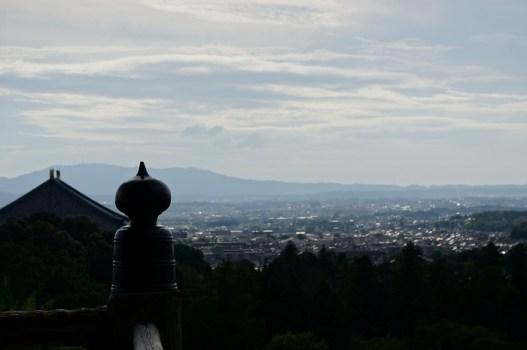 東大寺二月堂からの奈良市内