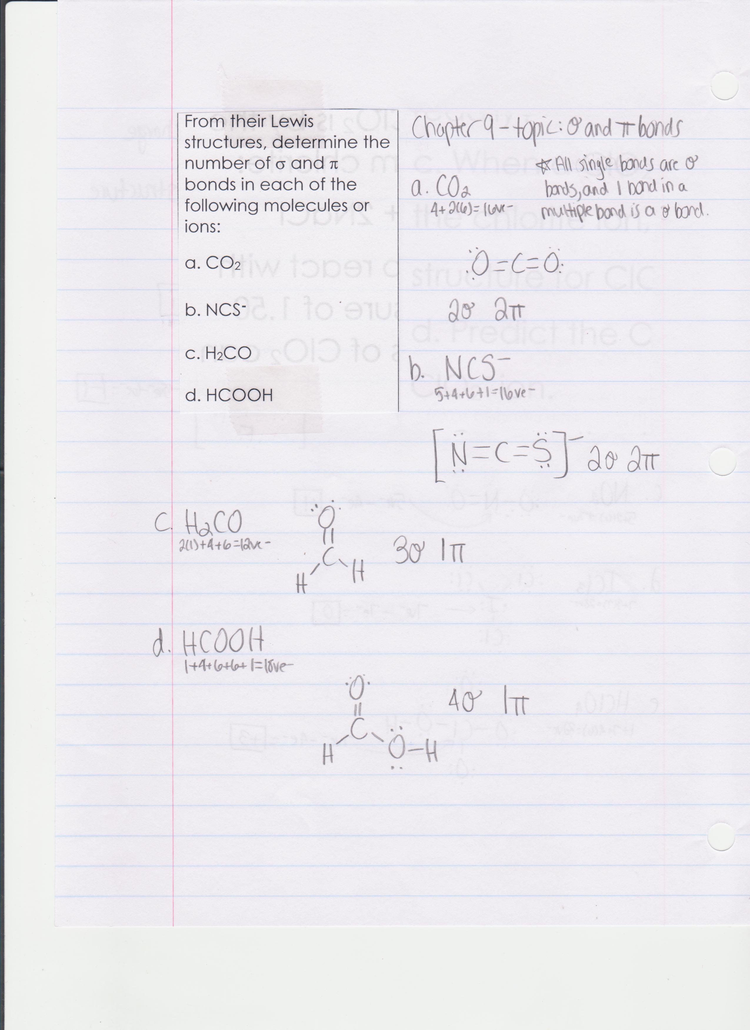 Borders, Jennie / AP Chemistry