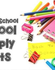Kindergarten also grade level supply lists overview rh schoolwires henry