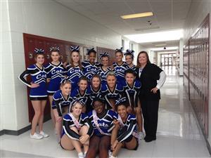 Cheerleading JV Competition Cheerleaders