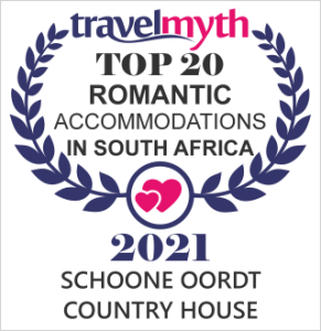 Top 20 Romantic Accommodations in South Africa and other awards