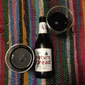 Return of the Dread, by Little Creatures - dark and roasty and begging for dark chocolate.