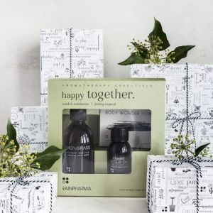Rainpharma Happy Together Skin wash after oil gift box lucky friday