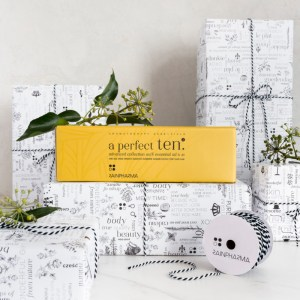 a perfect ten essential oils rainpharma gift box advanced collection