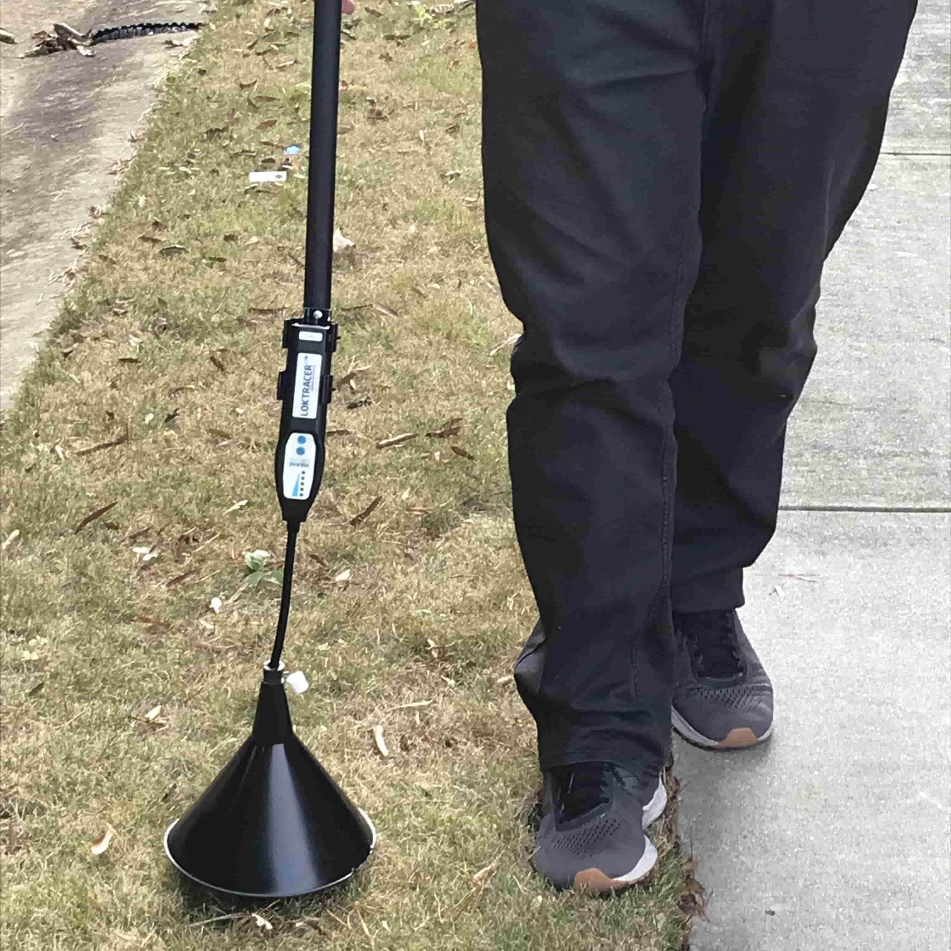 Underground Pipe Leak Detector