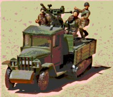 ZIS-42 + 37mm AA P1
