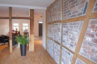 Sanierung von Wohnhaus (18. Jahrhundert) - Mauerwek