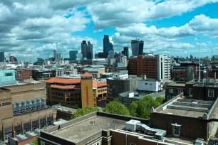 126 London skyline from Southwark Street