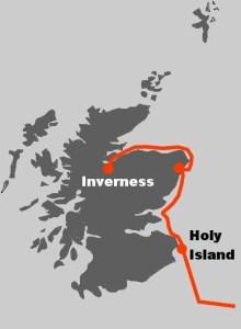 Bei dieser Segelreise starten Sie im schottischen Inverness und segeln an der Ostkueste entlang nach Amsterdam.
