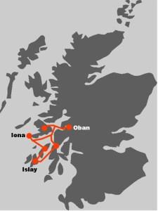 Die Westkueste Schottlands und die Hebrideninseln stehen im Zentrum dieser Segelreise.
