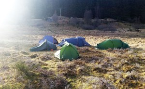 Für einen Campingurlaub in Schottland ist eine passende Ausrüstung sehr wichtig.