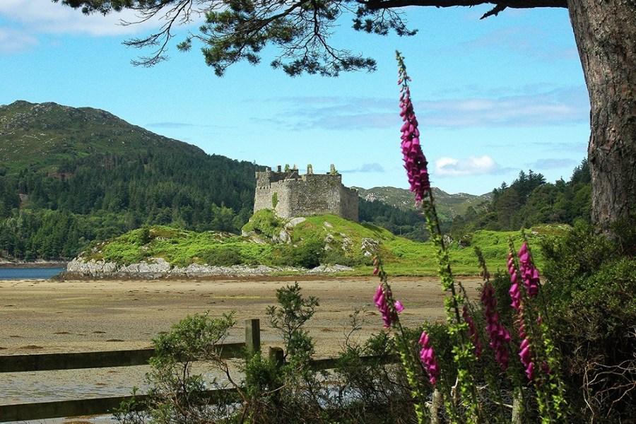 Burgen duerfen auf einer Familienreise durch Schottland natuerlich nicht fehlen.