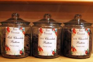 Schokolade wird auf einer Genussreise durch Schottland gekostet.