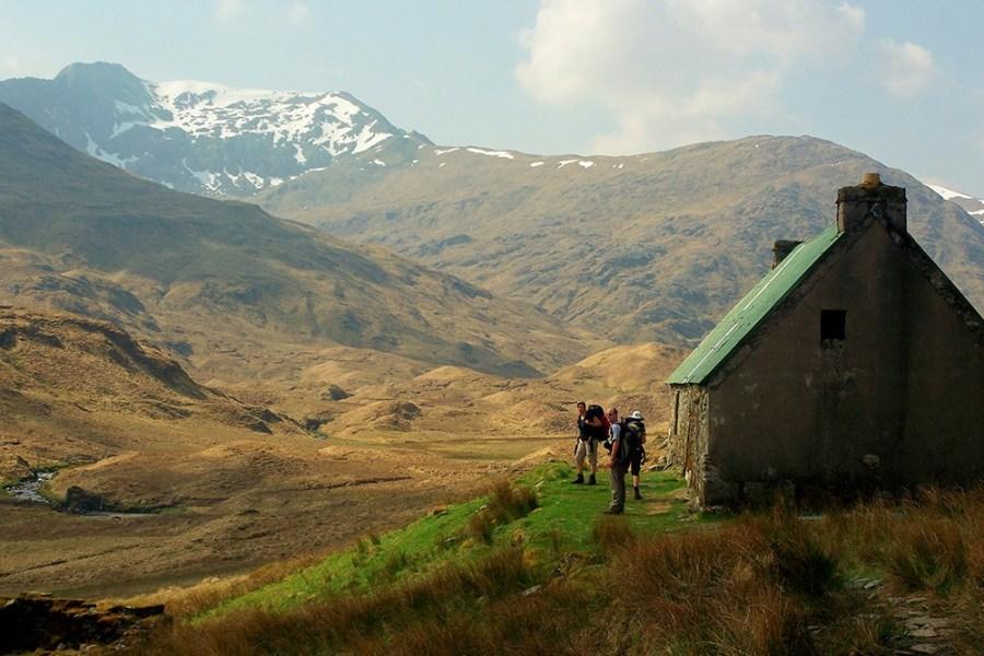Der Glen Affric Kintail Trail kann auf einer Wanderreise in Schottland mit Wind&Cloud Travel erwandert werden.