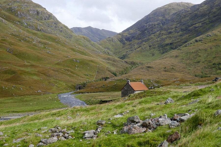 Eine Wanderung auf dem Glen Affric Way muss auf mehrere Tage mit Uebernachtung verteilt werden.