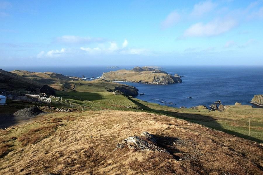 Suchen Sie Natur, dann ist eine Rundreise zu den Shetland Inseln der richtige Rueckzugsort.
