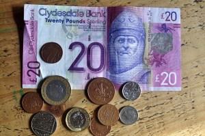 Banken, Geld & Post in Schottland   www schottland-reise com