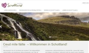 Alles rund um einen Schottlandurlaub findet man auf der Reiseseite Schottlandinfos.