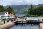 In Fort Augustus am Caledonian Canal kommt fast jede Schottlandreise vorbei.