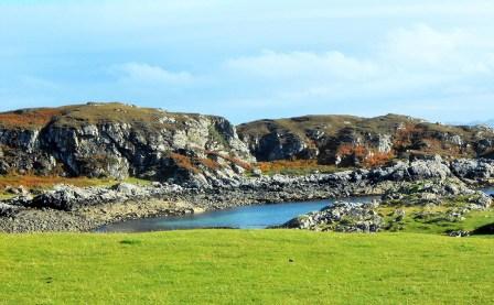 Die Road to the Isles, die A 830, ist die Hauptstraße, die Fort William mit Mallaig in Schottland verbindet.