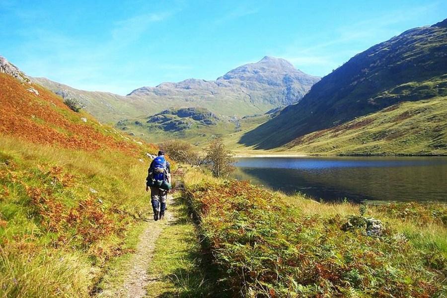 Wanderurlaub in Schottland, in den Highlands, ist ein einmaliges Erlebnis und eine Reise Wert.