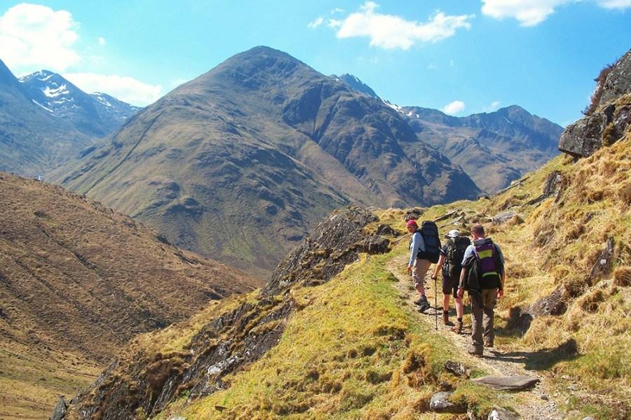 Eine Wanderreise auf dem Glen Affric Kintail Trail in Schottland ist eine Reise Wert.