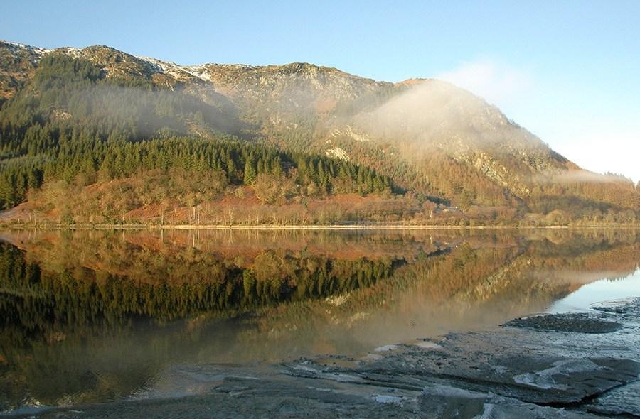 Die Wandertour auf dem West Highland Way ist ca. 153 km lang.