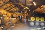 Gleich am Anfang der Whiskyreise nach Islay besichtigen wir Auchentoshan Warehouse.