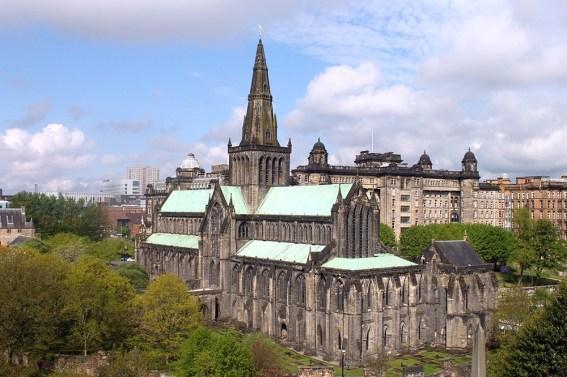 In Glasgow bietet Wind & Cloud Travel Stadtfuehrungen auf deutsch an.