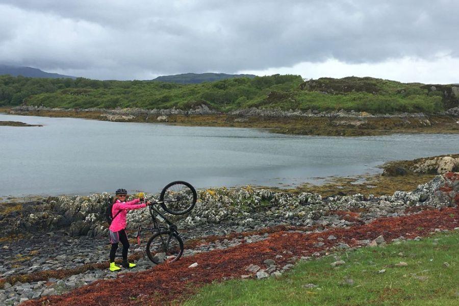 Auf dieser Segelreise koennen Sie Schottland mit dem Fahrrad erkunden.