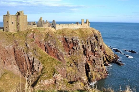 Das Dunnottar Castle in Schottland ist wahrlich eine Ikone.