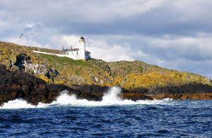 Der Fernwanderweg Fife Coastal Path fuehrt immer an der Nordsee entlang.