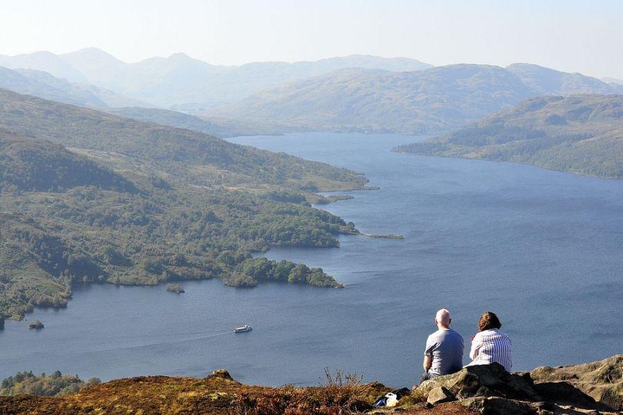 Ein entspannter Schottlandurlaub ist vor allem im Herbst moeglich.