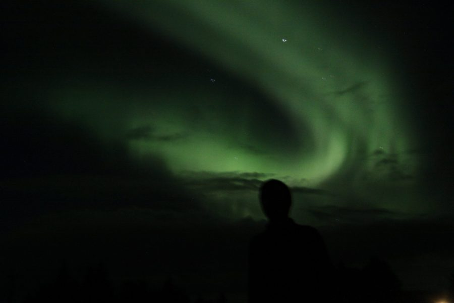 Polarlichter sind mit viel Glück in Schottland zu bewundern.