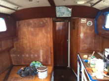 Already painted the galley