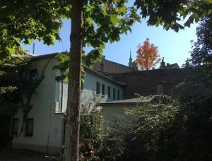 Großenhain, Stadtmauer an der Mozart-Allee