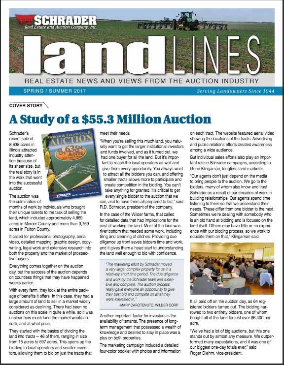 Biggest Landowners In Us : biggest, landowners, Schrader, Estate, Auction, Marketing, Experts., Nationwide